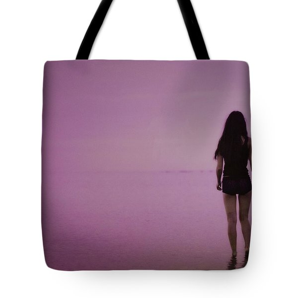 Entering A New Dimension  Tote Bag by Dennis Baswell