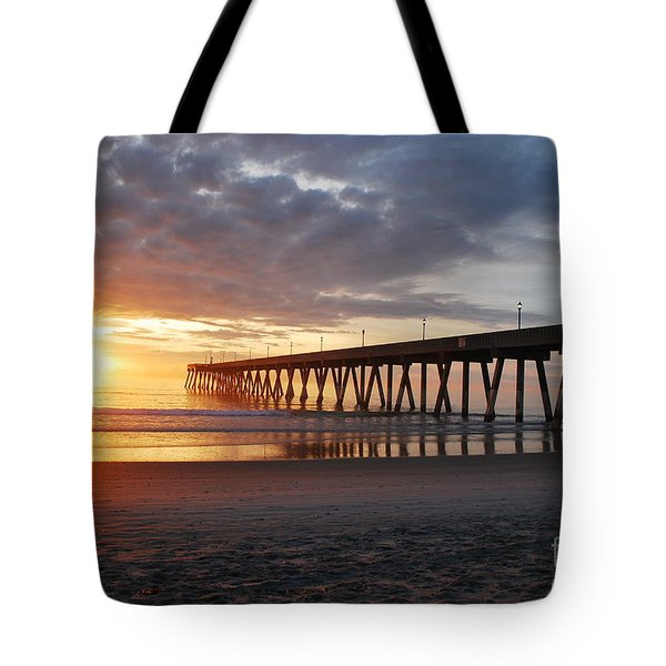 The First Sunrise Tote Bag