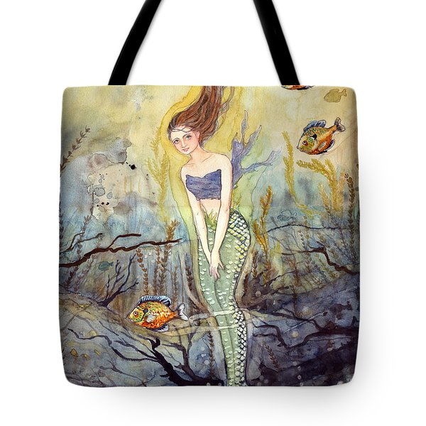 The Fish Are Biting Tote Bag