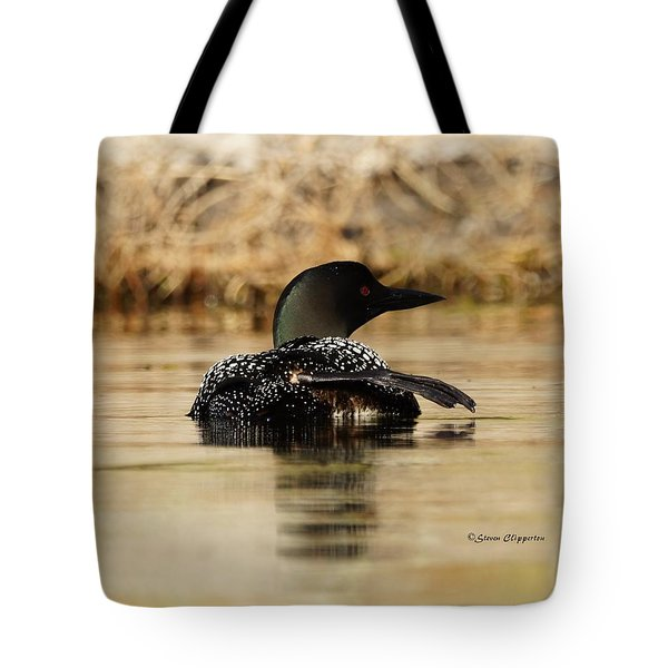 The Fish Went That Way Tote Bag by Steven Clipperton