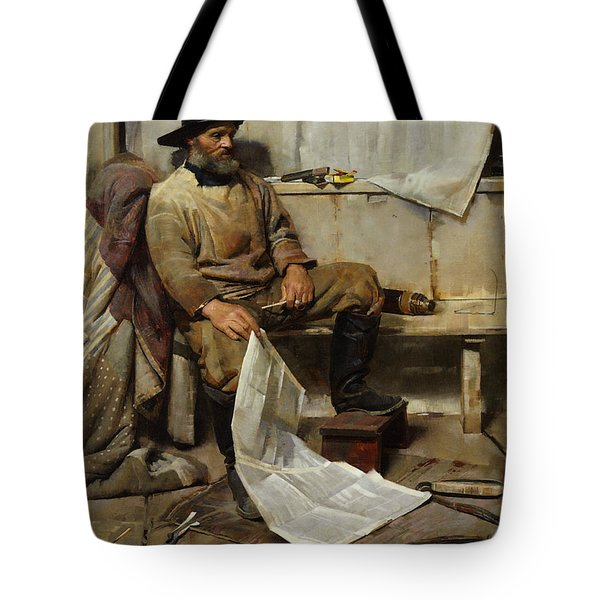 The Fisherman Tote Bag by Frank Richards