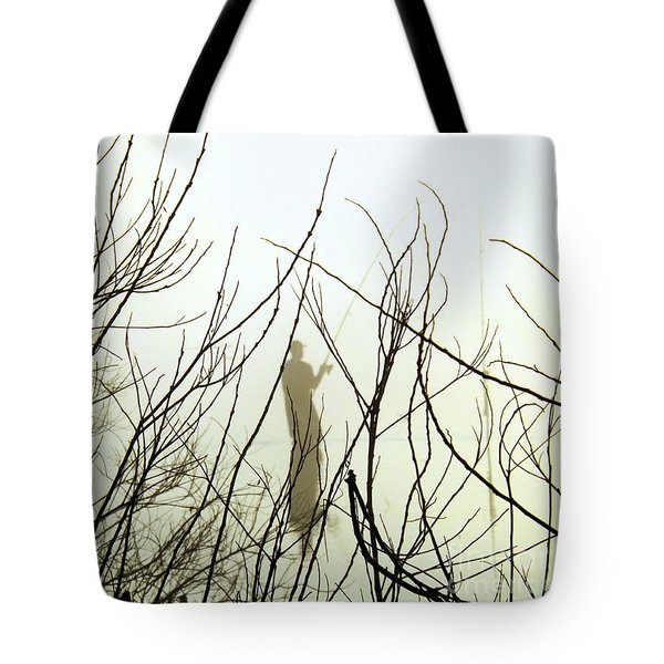 Tote Bag featuring the photograph The Fisherman by Robyn King