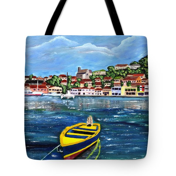 The Fishing Boat  Tote Bag