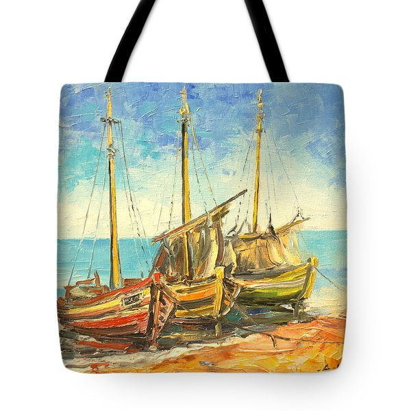 The Fishing Cutters Tote Bag