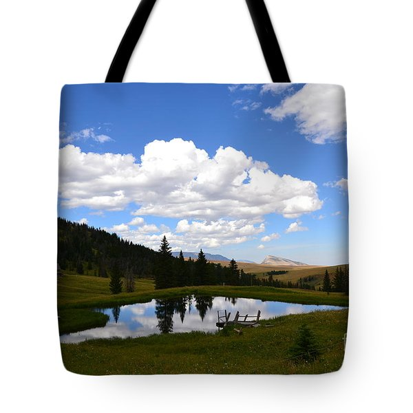 Tote Bag featuring the photograph The Fishing Hole by Dorrene BrownButterfield
