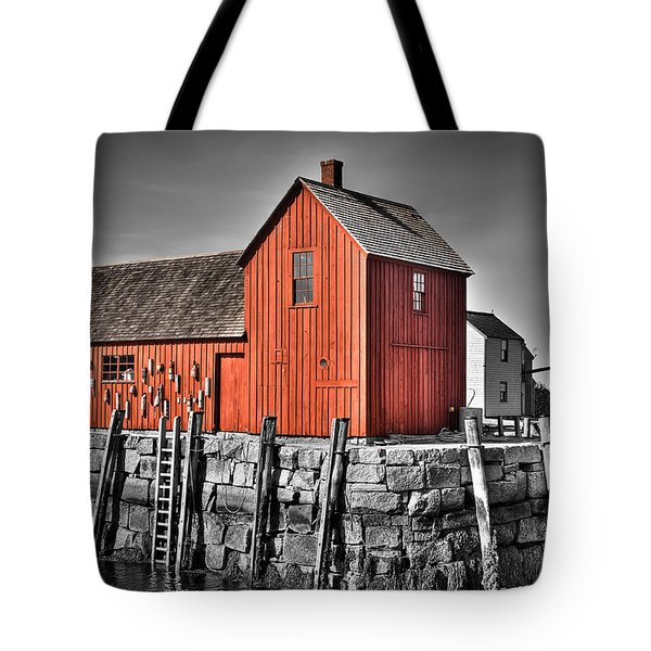 The Fishing Shack Tote Bag
