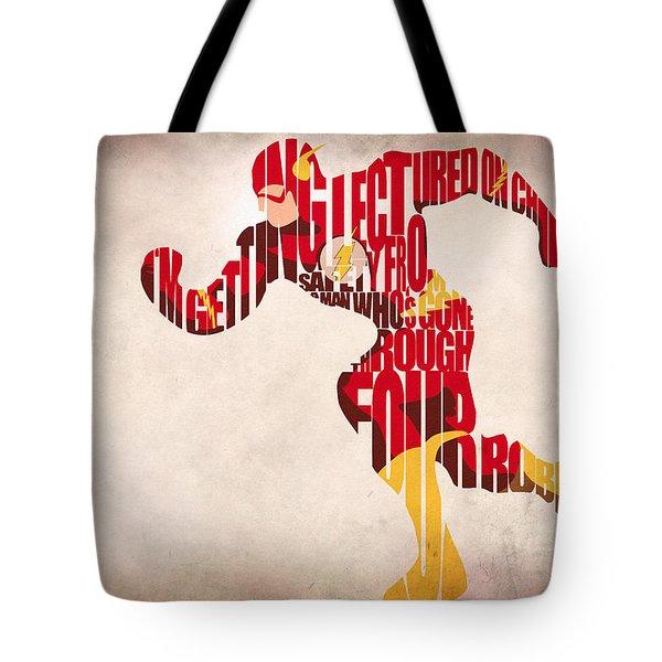 The Flash Tote Bag by Ayse Deniz