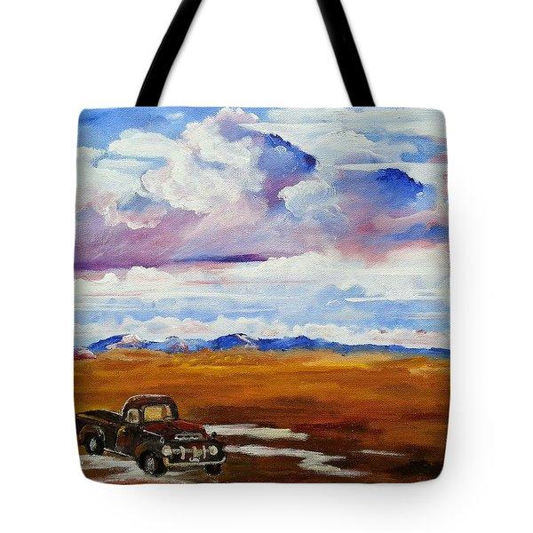 The Flathead Tote Bag
