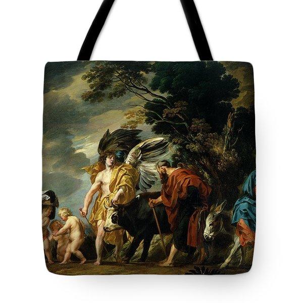 The Flight Into Egypt Tote Bag by Jacob Jordaens