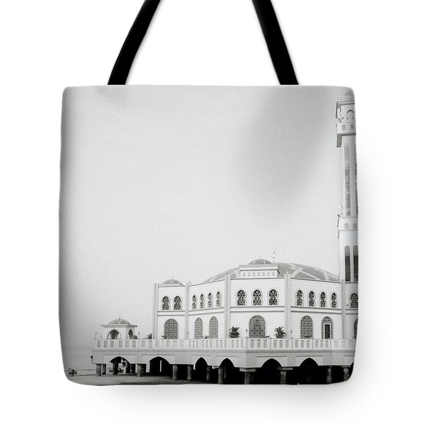 The Floating Mosque Tote Bag