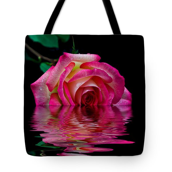 The Floating Rose Tote Bag