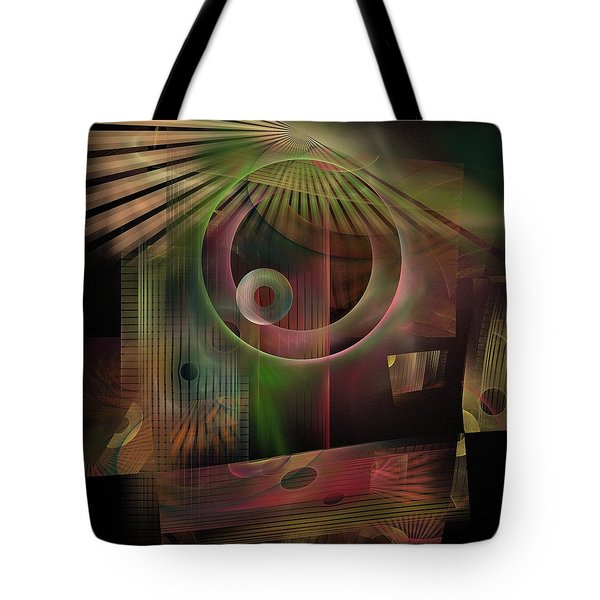 Tote Bag featuring the digital art The Flower And Willow World by NirvanaBlues