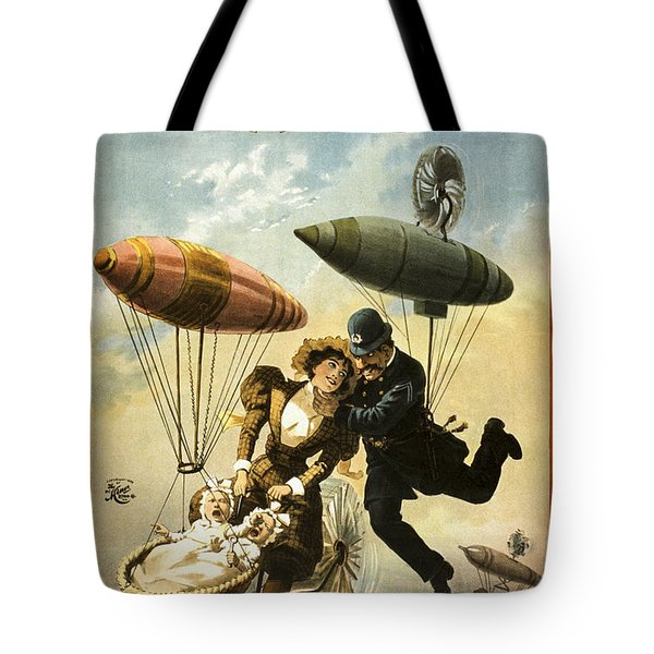 The Fly Cop Tote Bag