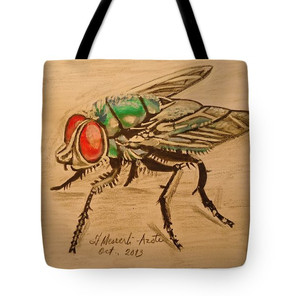 The Fly Tote Bag by Fladelita Messerli-