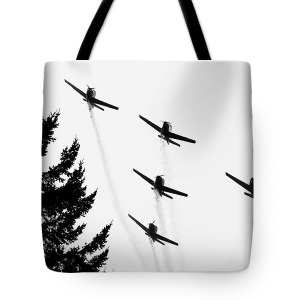 The Fly Past Tote Bag by Chris Dutton