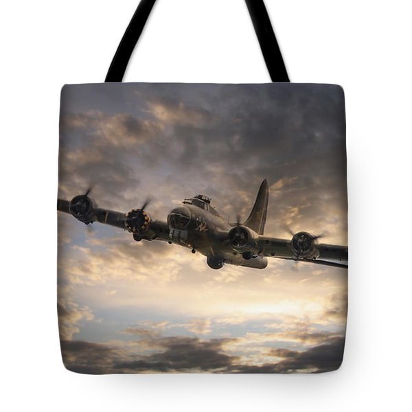 The Flying Fortress Tote Bag