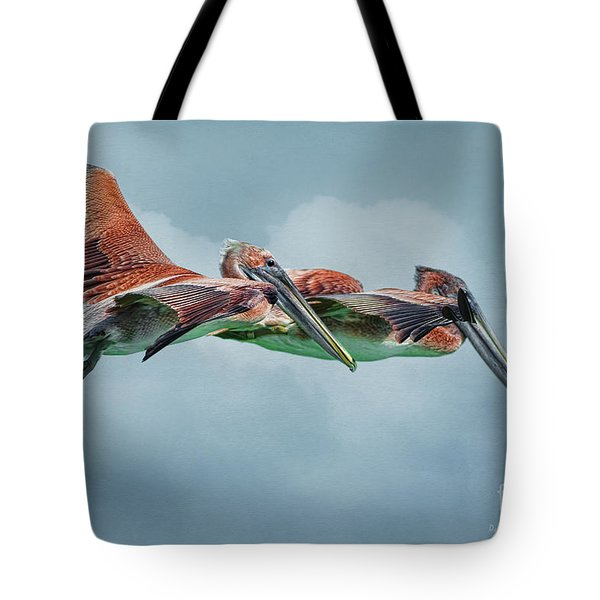 The Flying Pair Tote Bag