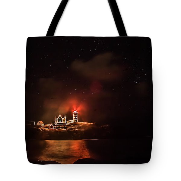 The Fog Rolls In Tote Bag by Jeff Folger