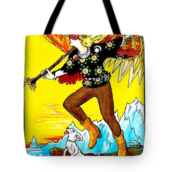 The Fool Tote Bag by Joseph Demaree