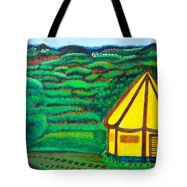 The Footsteps And The Promised Tote Bag by Lorna Maza