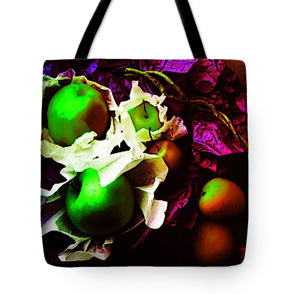 The Forbidden Fruit II Tote Bag