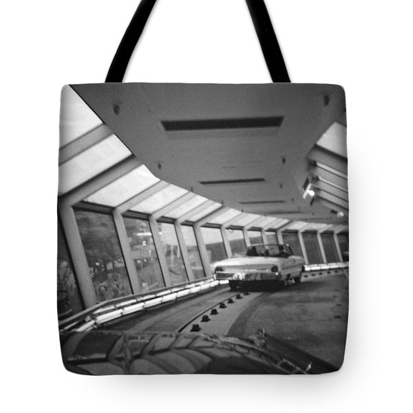 the Ford Rotunda Highway Tote Bag