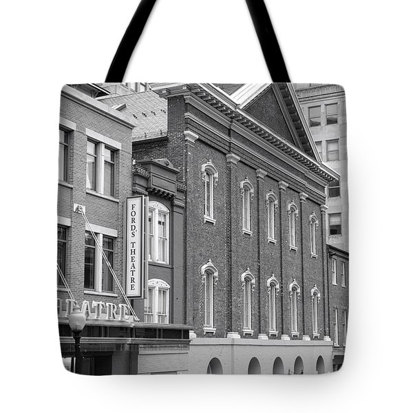 The Ford Theater  Tote Bag