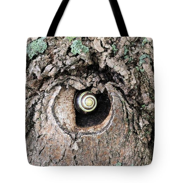 The Forest Is Watching Tote Bag