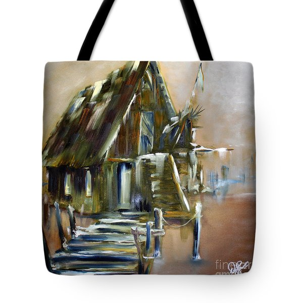 The Forgotten Shack Tote Bag by David Kacey