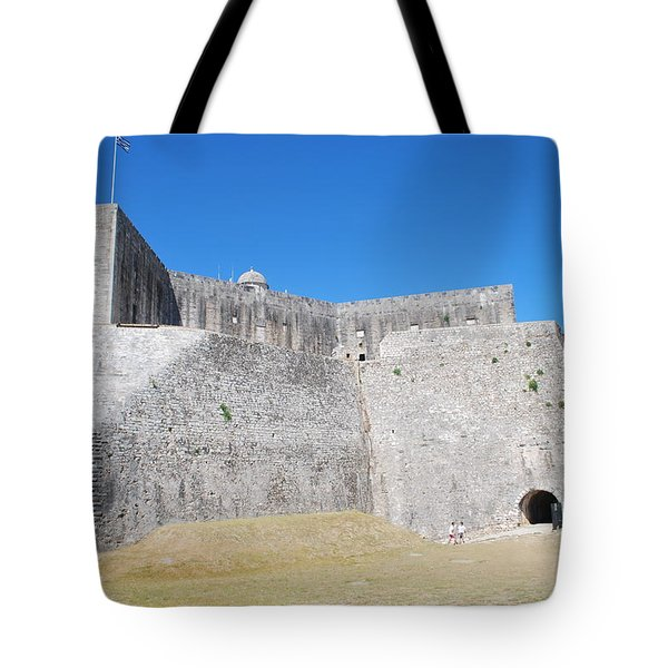 Tote Bag featuring the photograph The Fort Never Fell by George Katechis