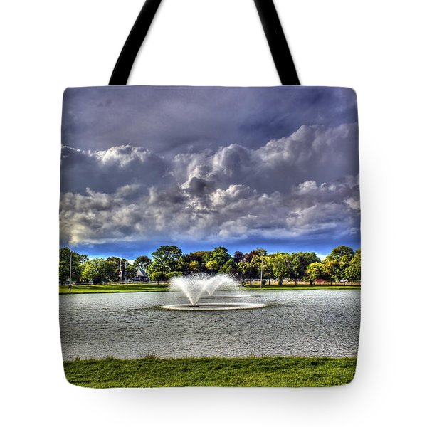 The Fountain Tote Bag by Tim Buisman