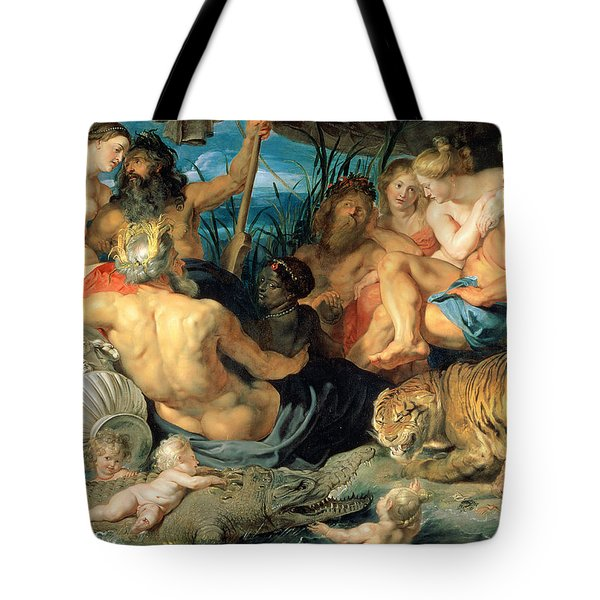 The Four Continents, 1615 Tote Bag