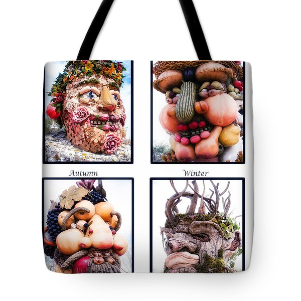 The Four Seasons Tote Bag by Diane Wood