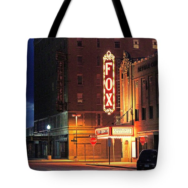 The Fox After The Show 2 Tote Bag