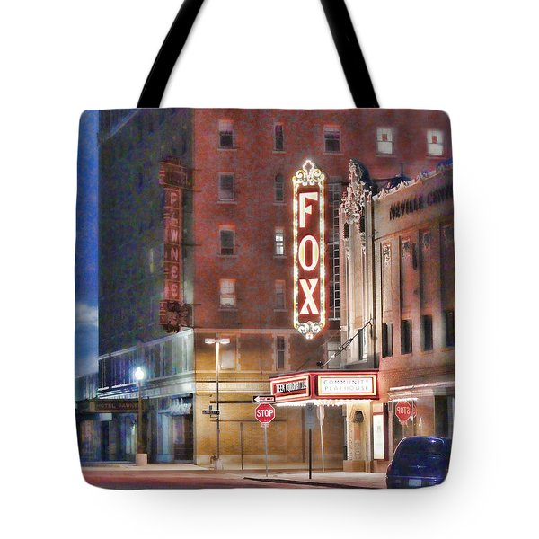 The Fox After The Show Tote Bag