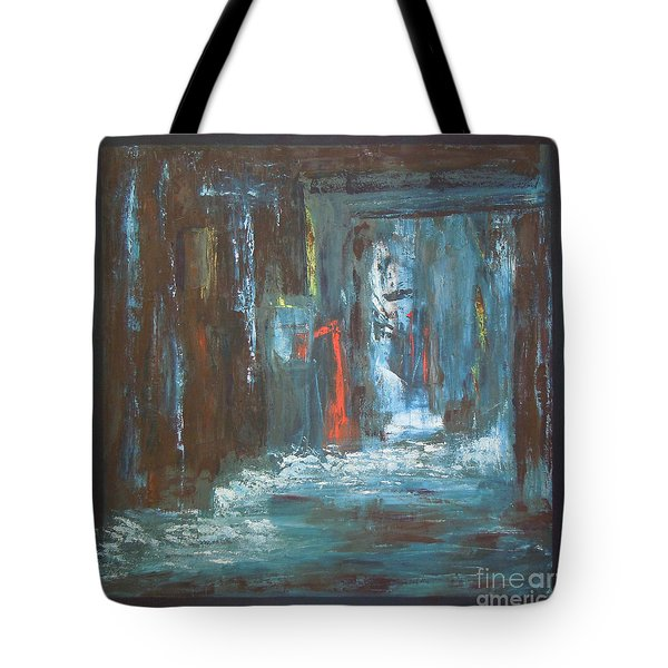 Tote Bag featuring the painting The Free Passage by Mini Arora