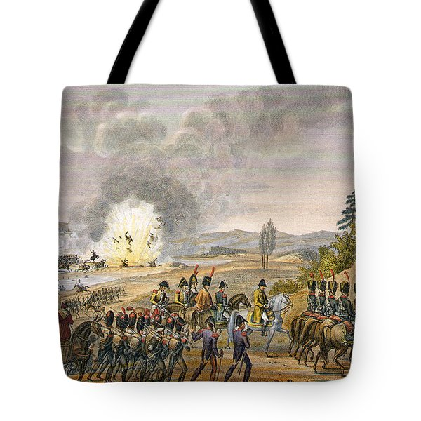 The French Retreat After The Battle Tote Bag