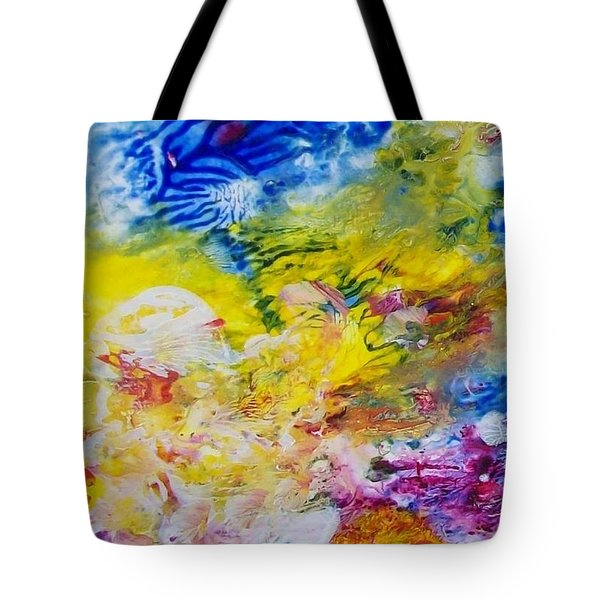 The Frequency Of Joy Tote Bag