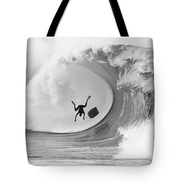 The Frogman Tote Bag by Sean Davey