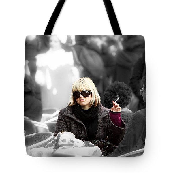 The Frown Tote Bag