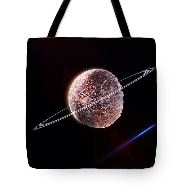 The Frozen Planet  Tote Bag by Naomi Burgess