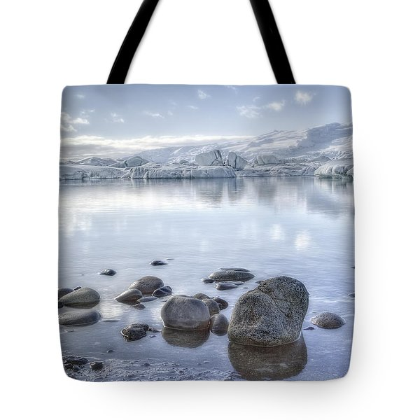 The Frozen World Tote Bag by Evelina Kremsdorf