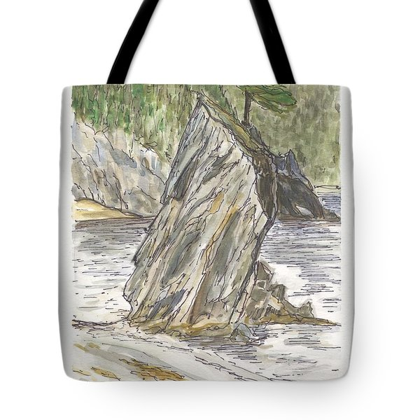 The Fryer In Little Harbour East Fortune Bay Nl Tote Bag