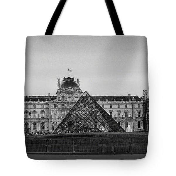 The Full Louvre Denise Dube Tote Bag