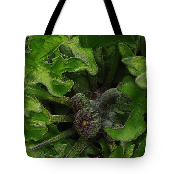 The Future In The Bud Tote Bag