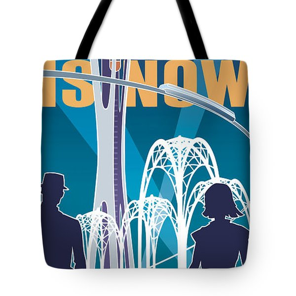 The Future Is Now - Night Time Tote Bag