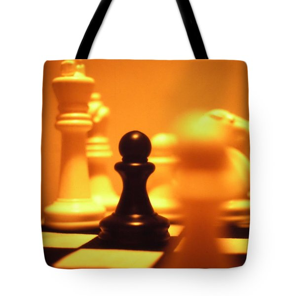 The Games We Play Tote Bag by Thomas Woolworth