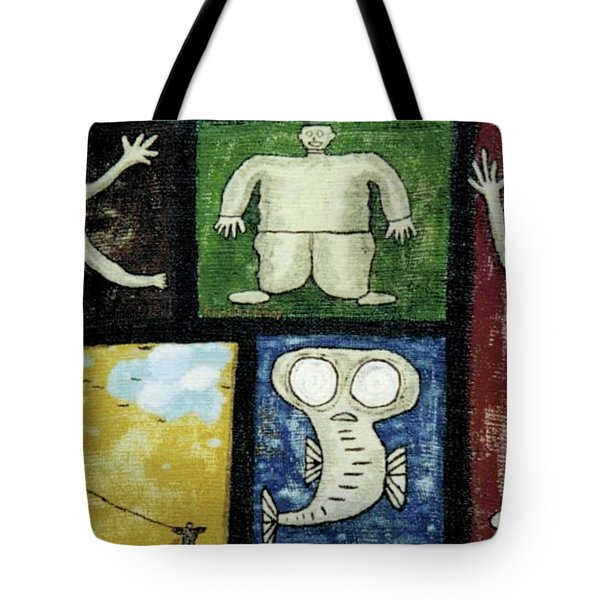 The Gang Of Five Tote Bag