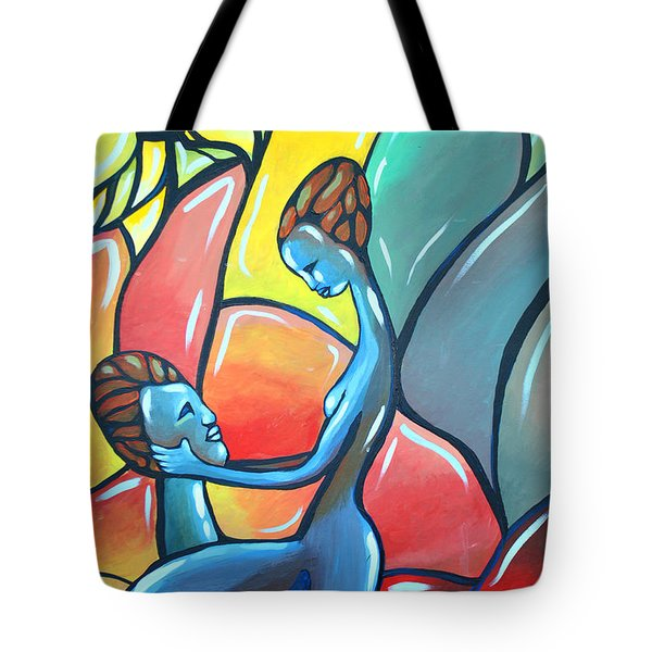 The Garden Tote Bag by AC Williams