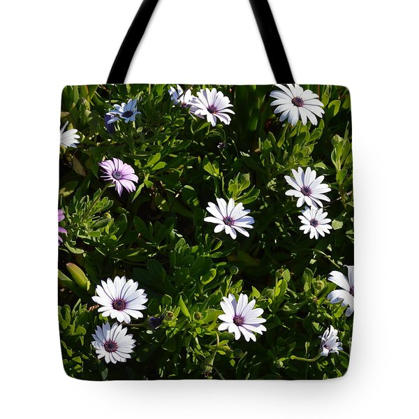 Tote Bag featuring the photograph The Garden by Laurie Lundquist